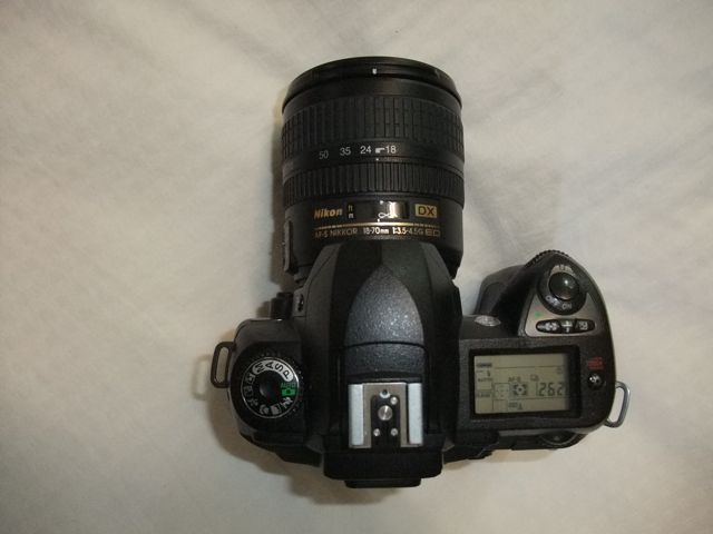 Nikon D70s DSLR camera above view.jpg