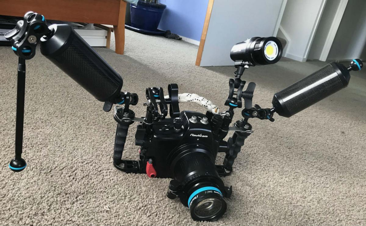 Camera and 2 carbon arms 1 ball arm SMC and flip Neo DX with 2400 video head (normally use the 200 SWR head) 2.jpg