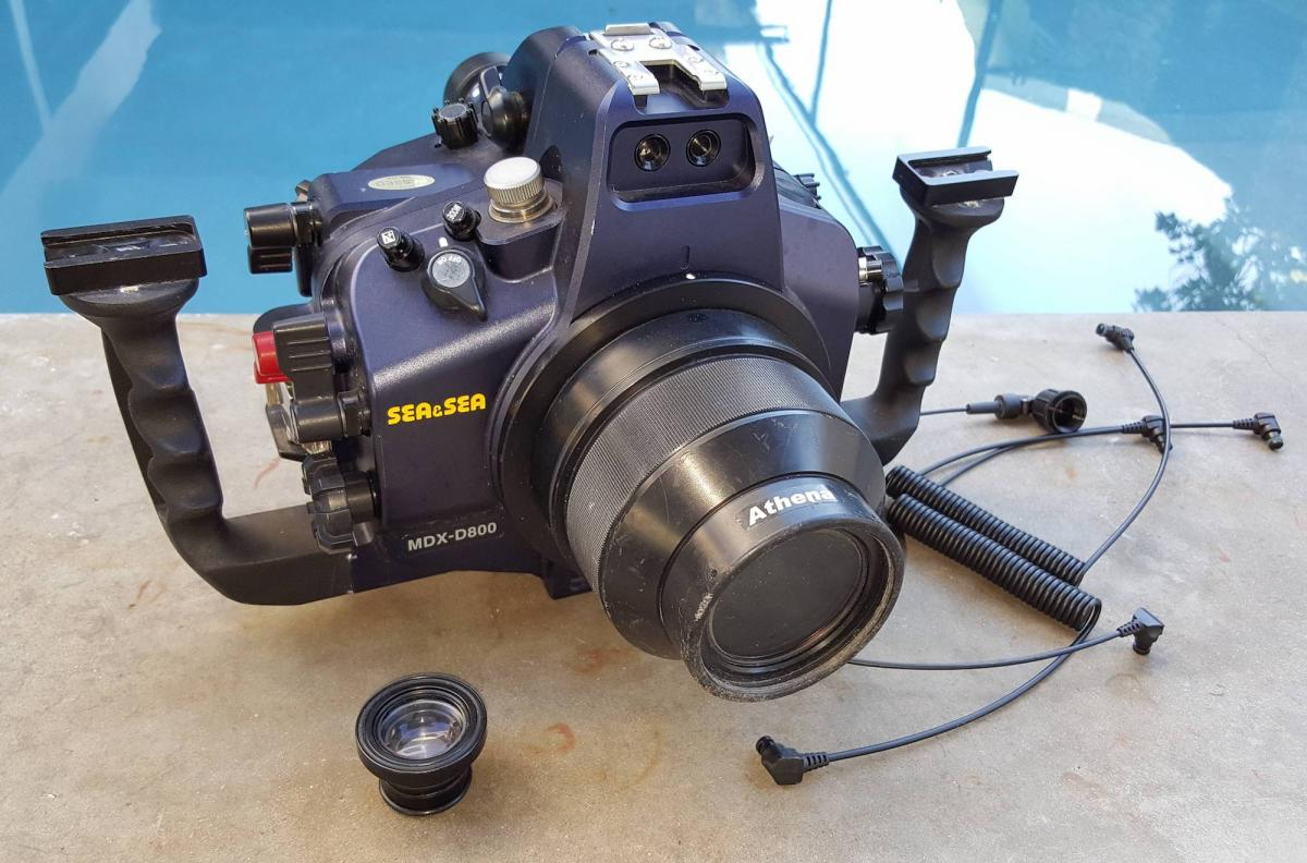 For Sale: Sea & Sea D800 / D800E Housing w/ Custom