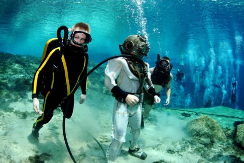 CousteauGearAndHelmetDiverAndUDTdiver.jpg