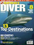 Todd Mintz, cover of Sport Diver Magazine Photo