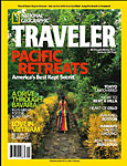 Mike Veitch, cover of National Geographic Traveler Photo