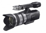 Sony launches first interchangeable lens HD camcorder Photo