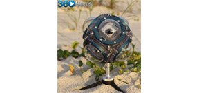 Camera housing for shooting 360 degrees underwater Photo