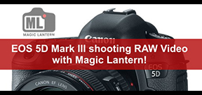 Magic Lantern offers RAW recording to EOS 5D Mk III Photo