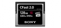 Sony announces CFast memory cards Photo