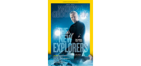 NG cover shot of James Cameron taken in a tank Photo