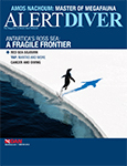 Winter edition of Alert Diver published Photo