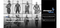 Faces of Freediving photo series by Tim Calver on DeeperBlue Photo