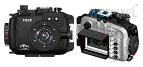 Fantasea announces housing for Canon G9 X Photo