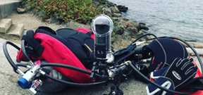 Laura James: Underwater 360° cameras and Insta360 review Photo