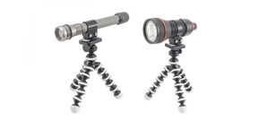 Inon announces their single light holders for tripods Photo