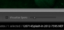 "Preview: Lightroom 5 beta's ""Visualize Spots"" feature Photo"
