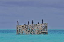 Jason deCaires Taylor opens Coralarium in the Maldives Photo
