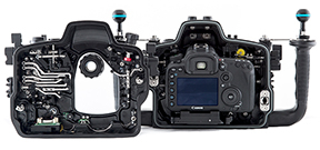 Nauticam ships their housing for the Canon EOS 7D Mark II Photo