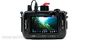 Nauticam ships housing for Atomos Shogun Photo