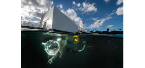 National Geographic and NPS explores inside the well preserved USS Arizona Photo