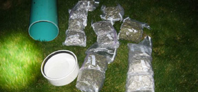 Scuba diver caught smuggling marijuana Photo