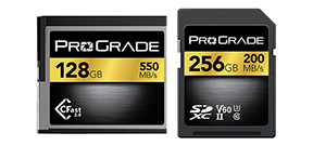 ProGrade Digital offers memory cards for pro users Photo