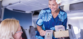 Hawaiian Airlines educates visitors about adverse affects of sunscreen on corals Photo
