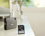 Sony launches SD memory card range Photo