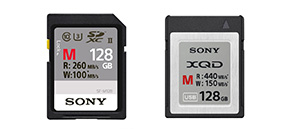 Sony announces pro XQD and SD cards and readers Photo