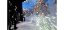 National Geographic's Ocean Odyssey opens in Times Square Photo