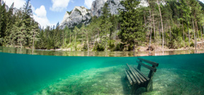 Hiking an Austrian trail . . . underwater Photo