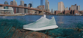 Adidas releases shoe made from ocean plastic Photo