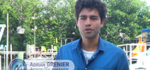 Actor Adrian Grenier visits Mission 31 Aquarius habitat Photo