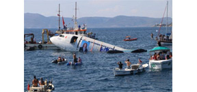 Turkey sinks an Airbus to attract diving tourism Photo