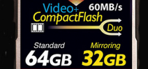 New CompactFlash card features RAID style back-up Photo