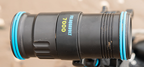 Review: Fisheye FIX Aquavolt 7000 video lights Photo