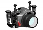 Nauticam underwater housing renderings for Canon Rebel T2i / 550D Photo