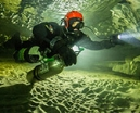 Video: Cave diving in Sweden Photo