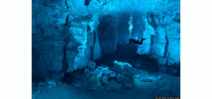 Cave diving in Russia Photo