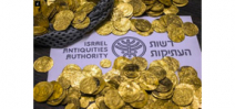 Divers discover gold coins off Mediterranean coast of Israel Photo