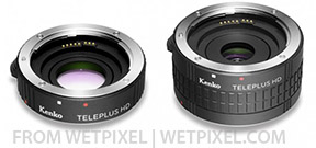 Kenko offers new teleconverters for Canon EF lenses Photo