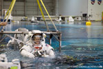 Eric Cheng visits the NASA Neutral Buoyancy Lab Photo