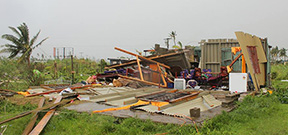 Fiji hit by tropical storm Photo