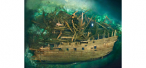 Swedish warship Mars discovered after 450 years Photo