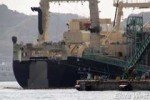 Japanese whaling fleet yet to leave dock Photo