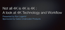 Tutorial: Ron Lagerlof on 4K imaging underwater Photo