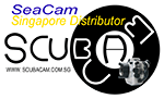 Scubacam appointed Seacam distributor in Singapore Photo