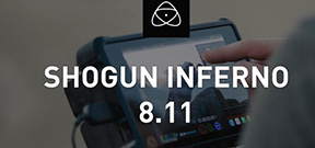 Firmware updates allows 4K 60P with Shogun Inferno and GH5 Photo