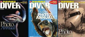 Vote for Sport Diver Magazine Cover Photo