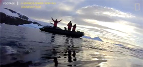 Video: A humpback whale's POV under Antarctica Photo