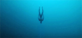 William Trubridge breaks free diving world record, twice Photo