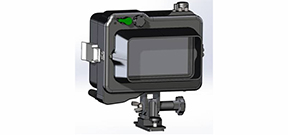 Gates trails new TVL55 monitor housing Photo