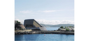 The first underwater restaurant in Europe to open in Norway Photo